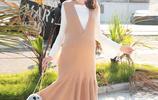 洋氣又有知性美的孕婦裙,讓你在孕期也能美如少女