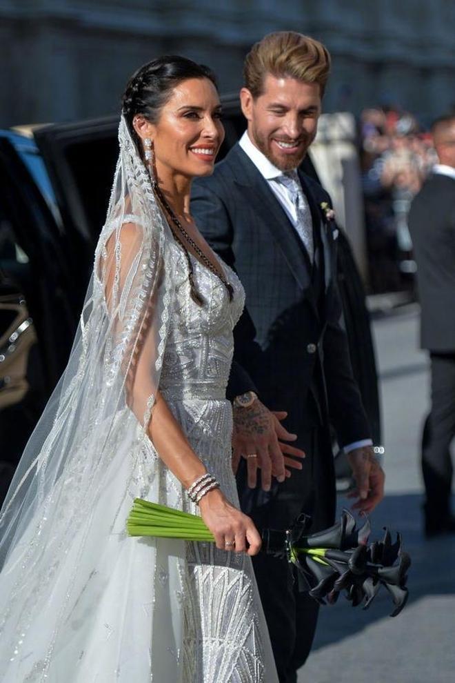 拉莫斯大婚皮姐美得高調,小貝一家現身,貝嫂小七同穿印花裙吸睛