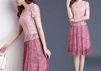 """現在穿這""""蕾絲""""春裙才更美,時尚舒適又遮肉,適合670後女人穿"""