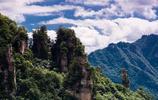 湖南張家界唯美自然風景圖