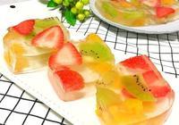時令水果果凍的做法