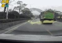 一組動圖警示你:開車不是簡單活 安全意識時刻都要有!
