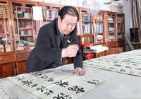 實力派書家龍開勝!——最新公示結果——六屆蘭亭獎第二名