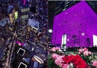 紐約世貿大廈為2017紐約時尚生活慶典亮燈