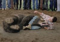 78歲老人單挑暴擊黑熊 一拳揍在黑熊臉上 熊口驚險逃命
