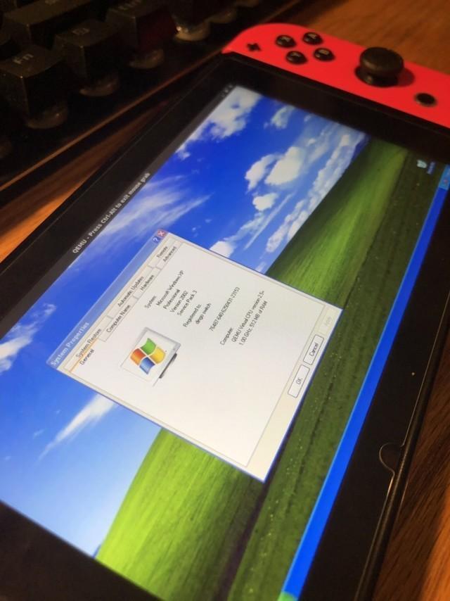 城會玩!玩家給任天堂Switch安裝Windows XP