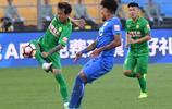 足球——中超:北京國安對陣廣州富力
