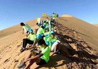 塞上點兵,大漠列陣,2017中國金昌國際青少年生存訓練營活動火熱進行中