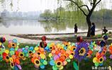 大唐芙蓉園風車滿園 春風裡轉出浪漫童年記憶