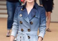 十大穿風衣最美的女星,孫儷性感時尚,佟麗婭柔美端莊