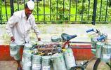 直擊印度的外賣送餐,運送工具簡單,但出錯率只有600萬分之一