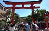 精品旅行 日本京都千本鳥居旅遊遊記 沿著山勢綿延數公里