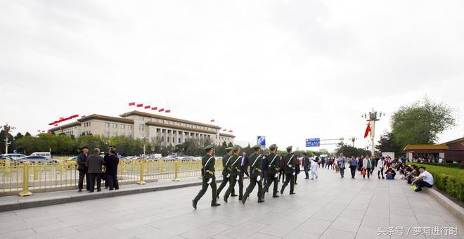 北京天安門!