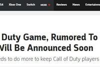 《使命召喚16》將在7月前公佈 系列作品售出超3億份
