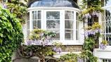 街頭的美景,鮮花環繞、色彩斑斕的倫敦之門