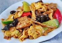 美食做法:小炒木須肉 萵筍炒雞肉