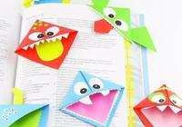 人見人愛的手工書籤,讓孩子愛上閱讀!