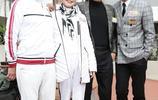 謝賢與前妻狄波拉同框,兩人氣質相差大,狄波拉67歲皮膚又白又嫩