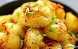 椒鹽小土豆,外酥裡嫩,非常好吃,全家都愛吃