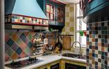 22款廚房復古花磚實拍參考,教你裝出一個優雅氣質的烹飪環境
