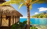 波利尼西亞波拉波拉島風景,是不是有一股馬爾代夫的味道呢?