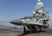 陣風戰機高速襲來,印度航母米格29緊急起飛迎戰,要給法國人驚喜