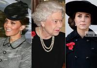 凱特王妃好受女王寵愛,與奶奶戴同一件耳環,未來王后就是不一樣