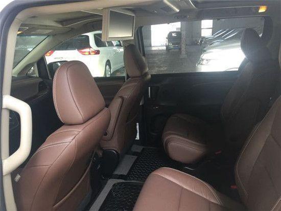 17款豐田塞納賣家豐田塞納最新價格 加版豐田塞納實拍圖片
