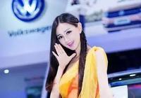 2017洛陽上海大眾展臺車模於瑩