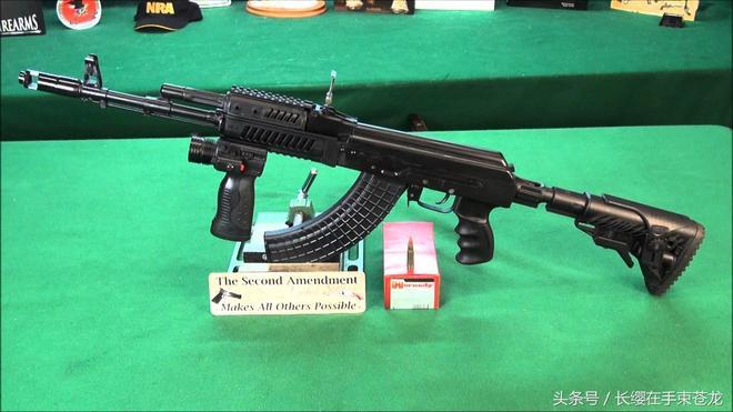 經典名槍 AK47突擊步槍 魔改作品 顏值爆表