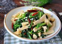 """腐竹被稱為""""素中之葷"""",這個做法,老公自己吃一盤,下飯又營養"""