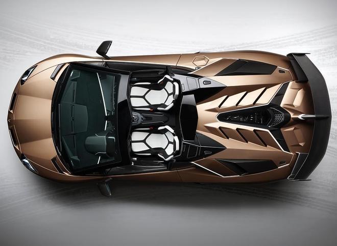 蘭博基尼Aventador SVJ Roadster !