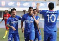 上海申花與長春亞泰打了一場國球