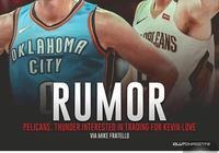 NBA交易傳聞:雷霆與鵜鶘欲爭搶得到騎士大前鋒凱文樂福