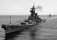 二戰海戰十大明星兵器之二——美國依阿華級戰列艦的終極傳奇