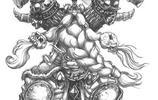 魔獸世界人物原畫Ⅰ