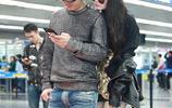 鄒市明為嬌妻慶生!冉瑩穎無懼寒冷秀美腿 兩人舉止親暱現身機場