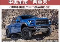"""中美車市""""兩重天"""" 2018年美國汽車市場銷量分析"""