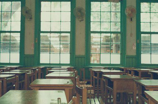 送給70、80後的回憶 小清新教室圖片