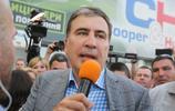 格魯吉亞前總統重獲烏克蘭國籍 返回基輔受民眾歡迎