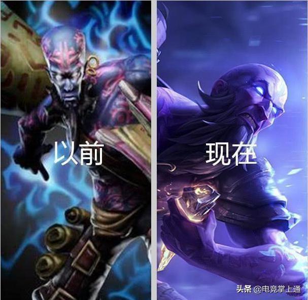 LOL:如果新老版本英雄solo,哪個英雄能打贏新版?