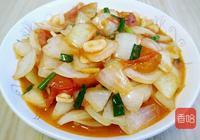 這兩種食材都是素菜,搭配在一起,營養不輸大魚大肉,清淡又爽口