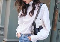 看了劉雯的造型,我才知道,白襯衫竟然可以穿的這麼洋氣!