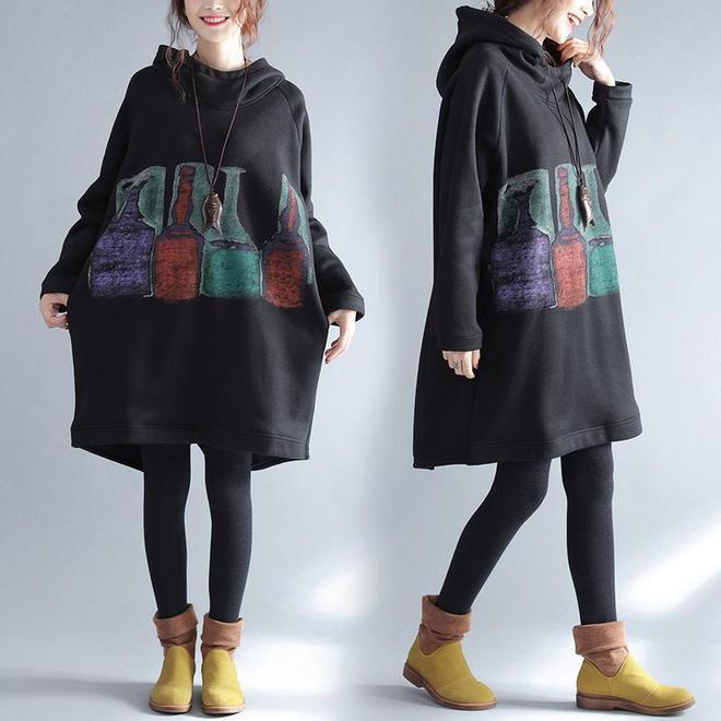 加絨加厚衛衣,據說是這個秋季最百搭的潮款,高圓圓、唐嫣也在穿