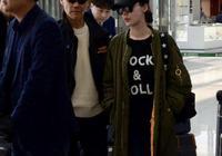 王石與小30歲田樸珺現身機場,兩人牽手大秀恩愛,穿著很時髦