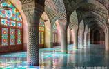 萬花筒般的粉紅清真寺
