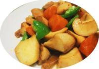 菜譜:蠔油杏鮑菇、肉丁炒杏鮑菇、焦熘豆腐