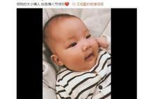王祖藍晒三個月大的女兒,大方晒娃真幸福,真的太像爸爸了