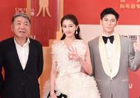 上海國際電影節,關曉彤鹿晗雙雙出席,大長腿加白色長裙,太美了