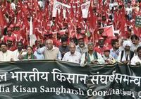 超10萬印度農民湧入首都遊行示威,30萬農民被逼自殺!什麼原因?